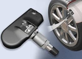 TMPS Sensor and Wheel